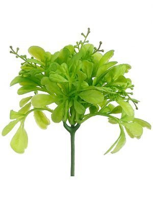 "8"" Soft PE Odorata Leaf Pick Green"