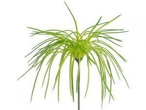 "8"" Soft PE Grass Pick Green"