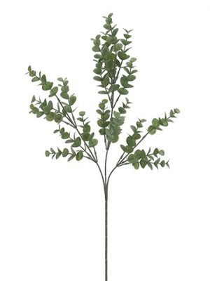 "27"" Eucalyptus Spray x3  Green Gray"