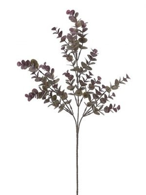 "27"" Eucalyptus Spray x3  Gray Purple"