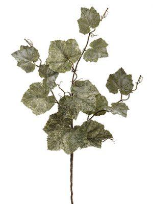 """36"""" Grape Leaf Spray Green"""