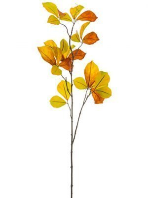 """48"""" Parthenocissus Spray Orange Brown"""