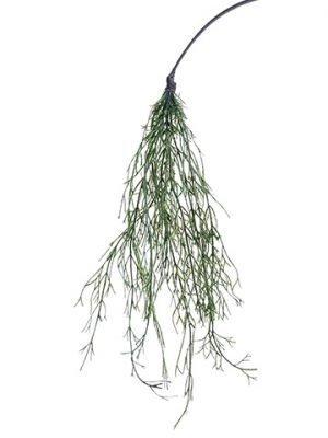 "15"" Twig Hanging Spray Moss"