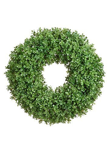 "21"" Boxwood Wreath Green"
