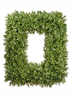 "18""W x 22""L Boxwood Wreath Green"