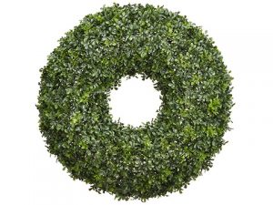 "29"" Boxwood Wreath Green"