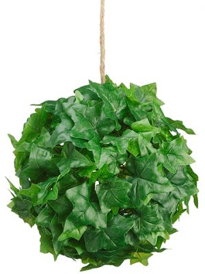 """8"""" Ivy Leaf Ball Green"""