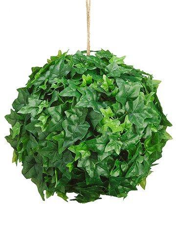 """12"""" Ivy Leaf Ball Green"""
