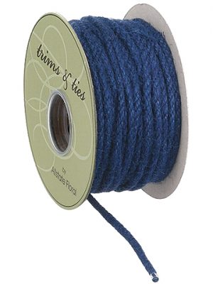 ".12""W x 10yd Rope Blue"