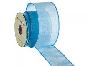 """2.5""""W x 10yd Ribbon Blue"""