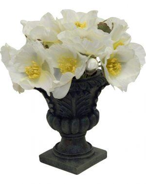 Poppy in urn