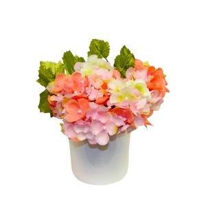 Simple hydrangea arrangement