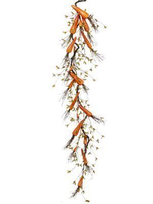 "66"" Carrot Garland Orange"