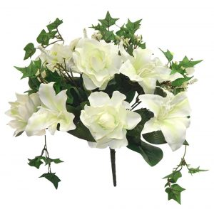 16in  tall gardenia/lily bush