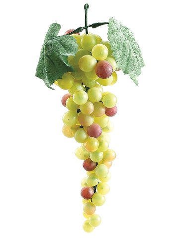 "10"" Round Grapes x90 Green Rose"
