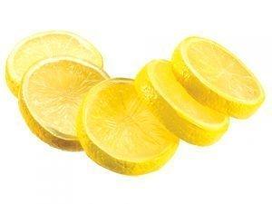"""2"""" Lemon Slices (5 ea/bag) Yellow"""