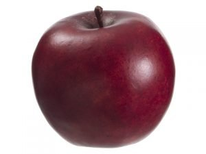 """3.3"""" Weighted Apple Red"""