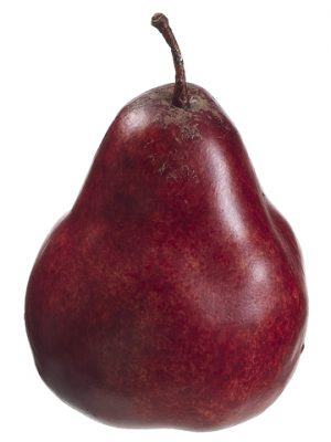 """3.7"""" Weighted Pear Red"""
