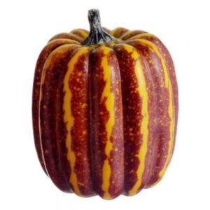 5in Hx35in D Weighted Pumpkin Orange Green