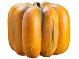 """23""""H x 23""""D Weighted Pumpkin Antique Talisman"""