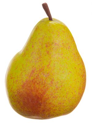 """3.5"""" Weighted Pear Yellow Gold"""