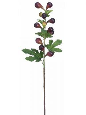 """38"""" Fig Spray Plum Burgundy"""
