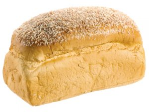 "4""H x 7""L Sesame Seed Bread Loaf Light Brown"