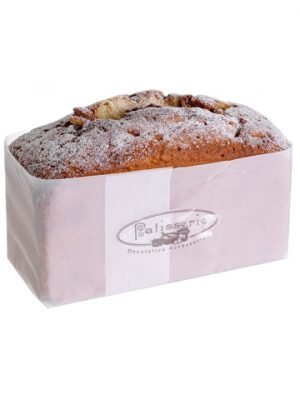 "3.5""H x 3""W x 6""L Sugared Loaf Cake w/Nuts Brown"