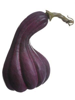 """6.5"""" Gooseneck Gourd Purple"""