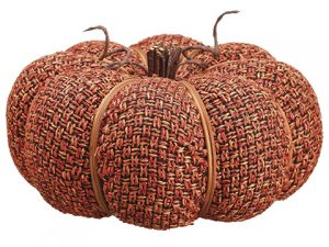 "4""H x 9""D Pumpkin Orange"