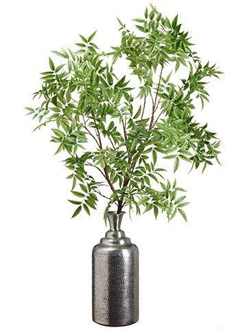 "63"" Pepperberry Tree Branchin Aluminum BottleGreen"