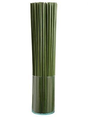 """37""""H x 8""""W x 8""""L Tall Grass inGlass VaseGreen"""
