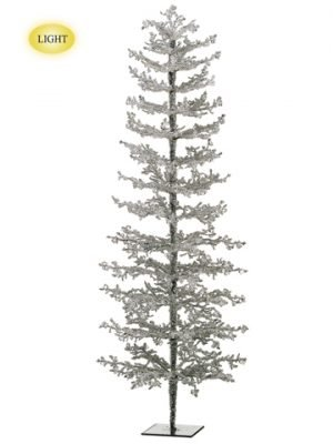 "48"" Iced Twig Tree w/150 Led Lights Clear"