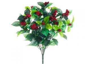"20.5"" Berry Bush Red"