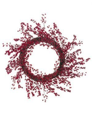"26"" Berry Wreath Red"