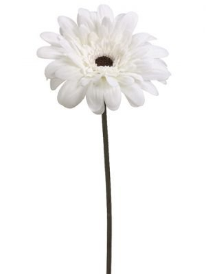 "21.5"" Velvet Gerbera Daisy Spray Cream"