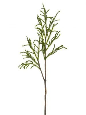"""31"""" Protea Leaf Spray Green"""