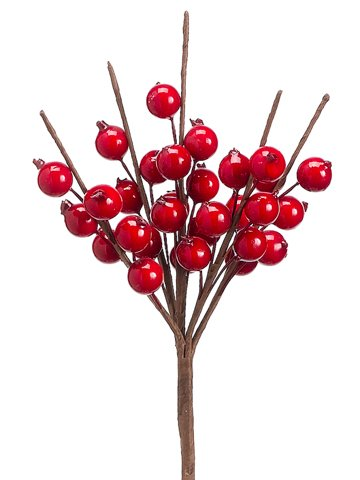 """10"""" Berry Pick Shinny Red"""