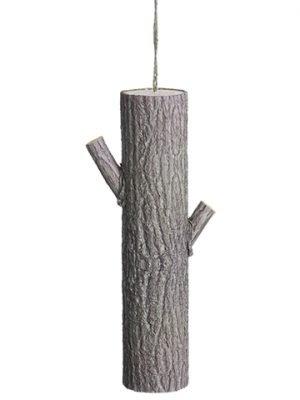 "15"" Paper Tree Trunk Ornament Brown"