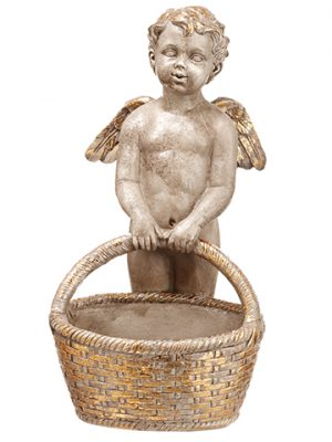 "11"" Angel Antique Gold"