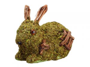 "5"" Moss Bunny Green"