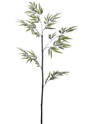 "44"" Black Bamboo Stem w/130LeavesGreen"