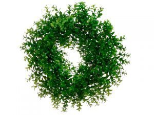 "18"" Japanese Boxwood Wreath Green"