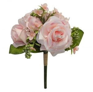 13in Rose diamond bouquet