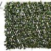 "39.3""W x 78.7""L UV ProtectedLaurel Leaf TrellisGreen"
