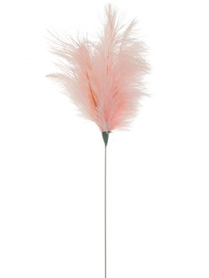 "14"" Ostrich Feather Spray Pink"