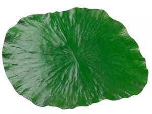 "17""W x 14.5""L Lotus Leaf Placemat Green"