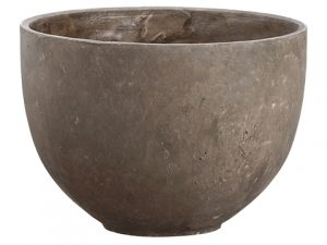 "11.5""H x 15.5""D Cement Planter Gray"