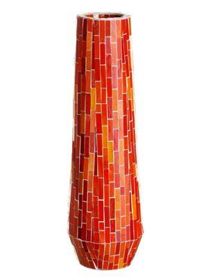 """23.5"""" Mosaic Container Orange"""