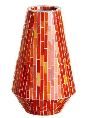 """16.25"""" Mosaic Container Orange"""